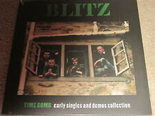 BLITZ - TIME BOMB - EARLY SINGLES AND DEMOS COLLECTION - NEW - LP RECORD
