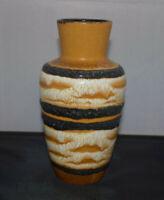 Scheurich FATLAVA 208-21 design Vase Keramik 60s 70s Vintage midcentury WGP MCM