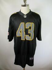 F3173 NIKE  Pittsburgh Steelers #43 Troy Polamalu NFL Football Jersey Size 3XL