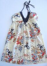 """BRAND NEW WITH TAGS ROXY LADIES """"MORGAN LEFAY"""" DRESS (CREAM) SIZE 12 RRP $70"""