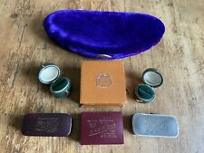 Joblot 7 Antique Vintage Modern Jewellery Boxes Rings Necklace  A/F