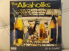 THA ALKAHOLIKS - 21 & OVER (VINYL LP)  1993!!!  RARE!!!  LOOTPACK + KING TEE!!!