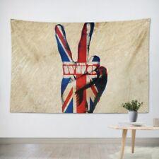 Rock Band Heavy Metal Music Hanging Flag Banner Retro Cloth Art Wall Decor uyu4