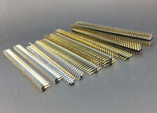 1x40 2x40 pin 3x40 pin Rows 2.54mm copper Straight/Right angle Header Connector