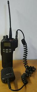 EF Johnson Ascend 5100ES Handheld Portable Radio 700/800 MHz P25 w/ Ant and Mic