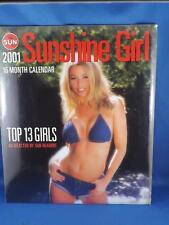 PIN UP GIRL CALENDAR 2001 TORONTO SUN SUNSHINE GIRL NEWSPAPER READERS CHOICE