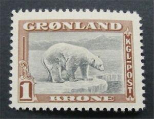 nystamps Greenland Stamp # 16 Mint OG NH     S24x476