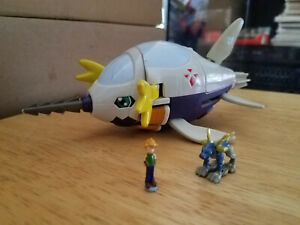 Bandai Digimon Submarimon DigiEgg with 2 Figures