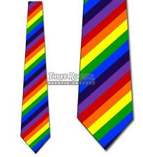 Rainbow Flag LGBTQ Tie Neckties Mens Gay Pride Ties NWT