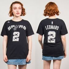ADIDAS SAN ANTONIO SPURS BLACK T-SHIRT WOMENS UNISEX VINTAGE NBA SPORTS 14