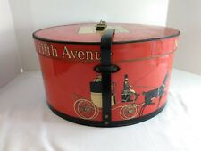 94e6e714b0a Vintage Dobbs Fifth Avenue New York Red Hat Box Only