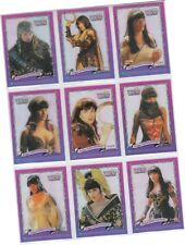 "Xena Series 3 (Three) - 9 Card ""Incarnations"" Clear Chase Set 1of9 - 9of9 (1999)"