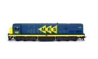 "Brazilian Original Electric Locomotive U20C ""MRS"" HO Frateschi 1:87 Collectible"