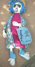 Vintage Hallmark Maxine Soft Doll Don't Worry Be Crabby Shoebox 1995 Novelty Fun