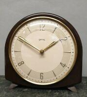 Smiths Floating Balance Bakelite Striking Mantel Clock
