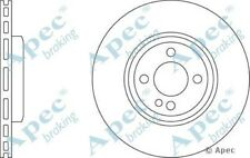 1x OE Quality Replacement Front Axle Apec Vented Brake Disc 4 Stud 280mm - Pair
