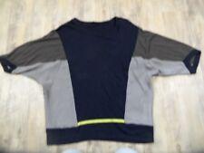 BIBA schönes oversized Shirt Materialmix Gr. XL TOP 1017