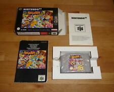 Original N64 Super Smash Bros. - Nintendo PAL Deutsch Top - mit OVP Box CIB