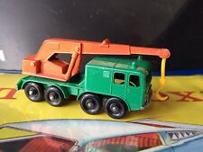vhtf Vintage 60's #30 ~ 8 WHEEL CRANE Made in England by Lesney SWEET