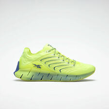 {FX2461} Men's Reebok CHROMAT ZIG KINETICA Shoes - Solar Yellow *NEW*