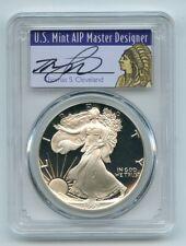 1992 S $1 Proof American Silver Eagle 1oz PCGS PR69DCAM Thomas Cleveland Native