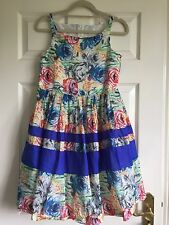 TORRES LIMITED EDITION/ PRETTY FLORAL PRINT DRESS/ AGE 14/ PARTY/ PETTICOAT