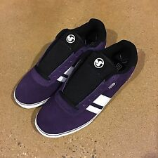 DVS Milan 2 CT Size 12 Purple Suede Militia Ignition BMX DC Skate Shoes Sneakers