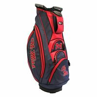 NEW Team Golf NCAA Ole Miss Golf Mississippi Victory Cart Bag