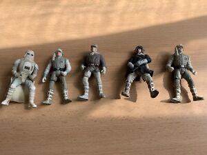 Lot figurines STAR WARS Vintage
