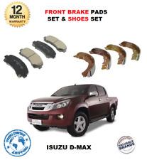 für ISUZU D-MAX 2.5 Ddi 4WD 2012- > NEU vorne Brems Scheiben Satz + Schuhe Satz