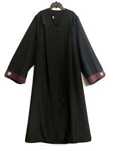 "53"" Length Texas A&M Aggies Baccalaureate Graduation Gown Black"