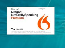 NUANCE DRAGON NATURALLY SPEAKING PREMIUM 13.0 - DOWNLOAD LINK + KEY - FRENCH
