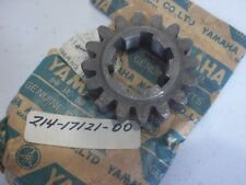 YAMAHA NOS DT1 DT1S 1968-1970 GEAR, 2ND PINION (16T)  214-17121-00-00 #33