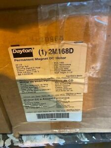 DAYTON 2M168D 1/2PH 1725 RPM Permanent Magnet DC Motor