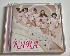 KARA Jet Coaster Love Limited Ed. Japan Press CD + DVD Type A