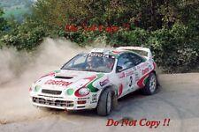 Juha Kankkunen Toyota Celica GT-Four San Remo Rally 1994 Photograph 2