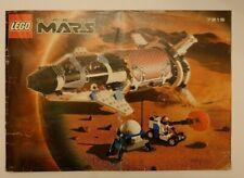 LEGO SET 7315 SOLAR EXPLORER INSTRUCTION MANUAL ONLY