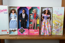 Barbie Dolls lot of 4 Avon Spring Blossom,,Little Debbie III,,Coca Cola,Picnic