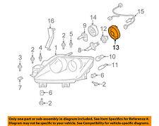 GENUINE MAZDA OEM Headlamp Headlight Bulb Cap Cover H432510A1, H432-51-0A1