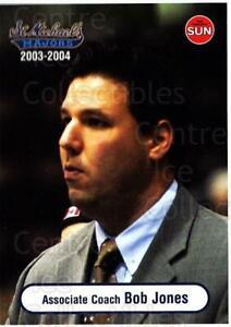 2003-04 Toronto St. Michaels Majors #26 Bob Jones