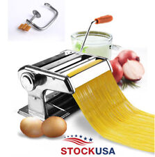 Maquina de Rodillo Para Fabricar Pastas Tallarines Espagueti de Fettuccine