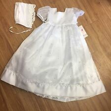 Tip Top Kids White Flower Girl Lace Dress NEW NWT 4