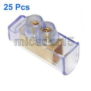 25 pcs x 16mm² Double Screw Connector Cable Terminals - Price inc GST & Tax inv
