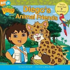 Diego's Animal Friends Touch & Feel 5 Animals (Go, Diego, Go) by Driscoll, Laura