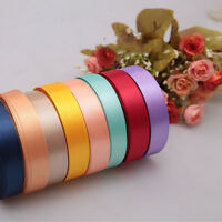 "High Quality Satin Ribbon 25 Yards For Wedding Party Decoration 3/8"" 5/8"""
