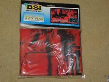 New listing Bsi Flag Banner 3'X5' Wcw Wwe Wrestling #10058 Kevin Nash Nwo Red & Black Attack