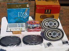 JBL Car AMPLIFIER + SONY Speakers + 200 WATT Amplifier Installation Kit