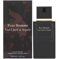 VAN CLEEF & ARPELS EAU DE TOILETTE POUR HOMME 100ml VAPO NEUF SOUS BLISTER