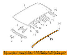 NISSAN OEM 09-14 Murano-Roof Molding Trim Right 738521AA0A