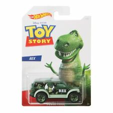 2019 Hot Wheels Toy Story 4 Woody Jessie Buzz Alien Rex Bo-peep 6 Car Set